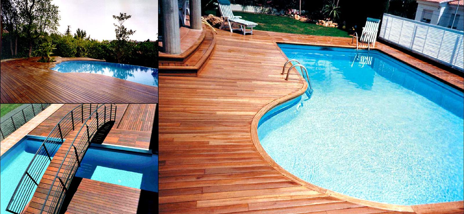 Decking And Pool Area Generis Woods