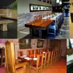 RECLAIMED OAK BEAMS TABLES