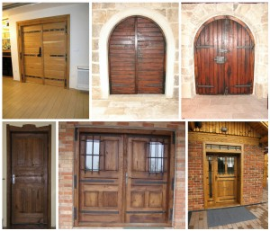 RECLAIMED OAK WOOD DOORS